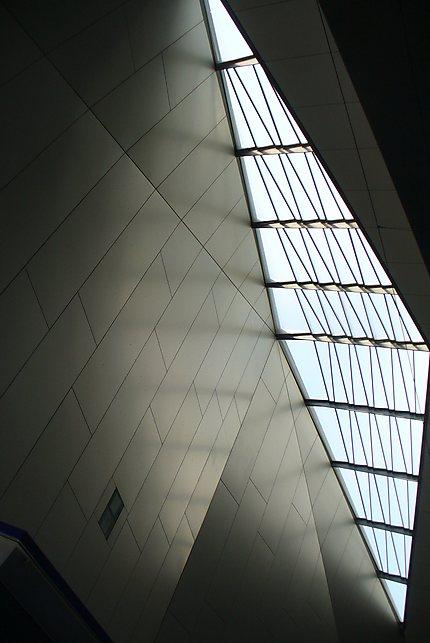 Toit de la nouvelle gare centrale