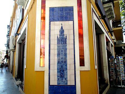 Azuli représentant la tour de la Cathédrale