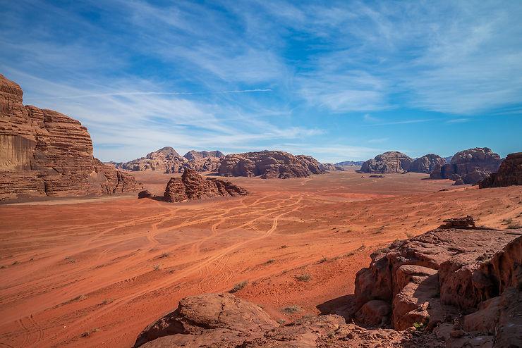 Pasaana : désert Wadi Rum en Jordanie