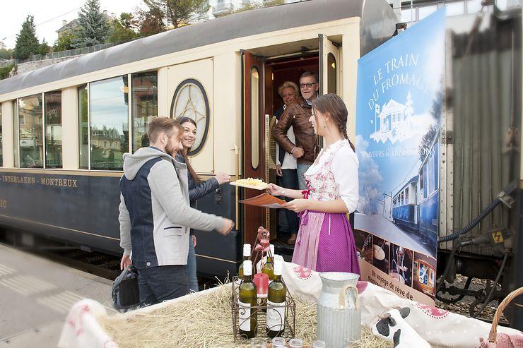 Suisse - Fromage ou chocolat... choisissez votre train !