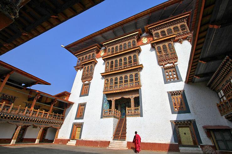 Un dzong par vallée