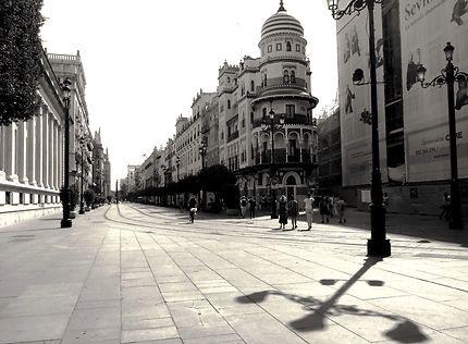 Rue d'Estrella, près de la Cathédrale de Séville.