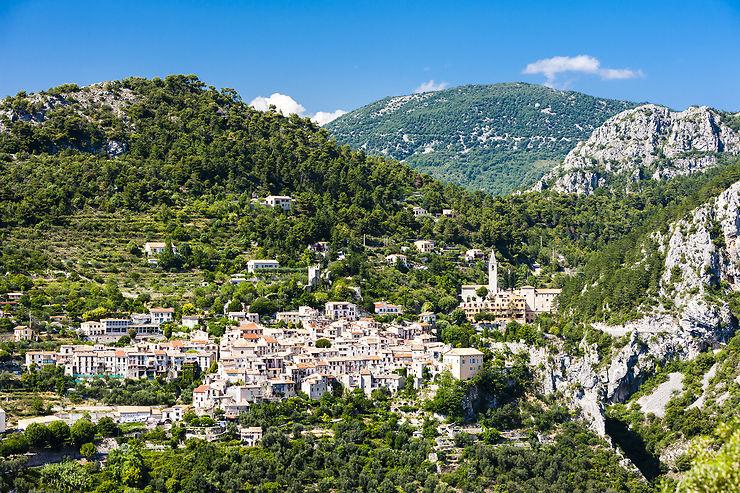 Les villages perchés de la Côte d'Azur
