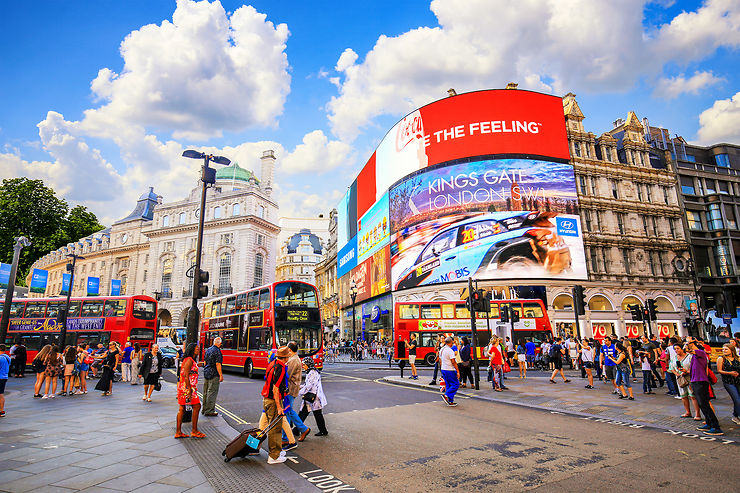 Piccadilly Circus, Londres - Angleterre