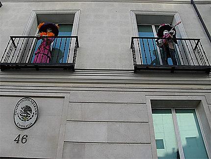 Halloween à l'Ambassade du Mexique !