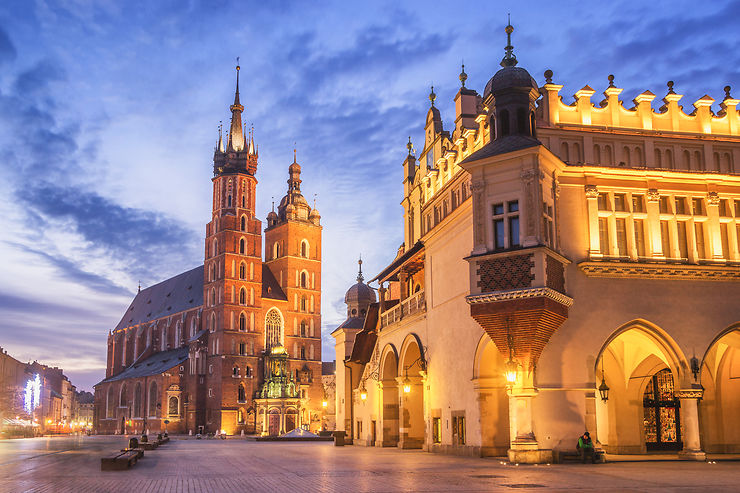 Les charmes du vieux Cracovie