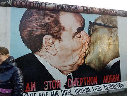 Photo du mur de Berlin