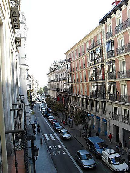 Rue dans le quartier de la Latina