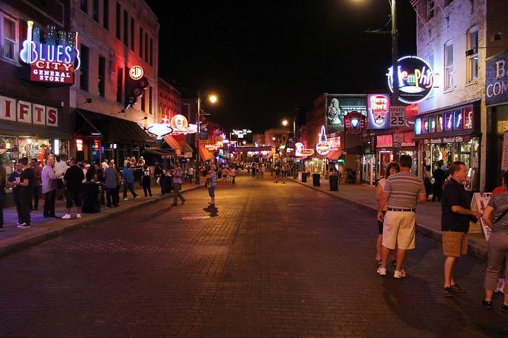 Beale Street, la rue légendaire de Memphis