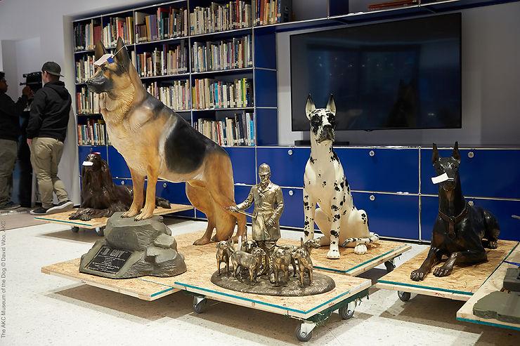 Etats-Unis - Un musée du chien à New York