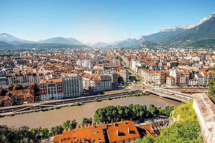 Trek urbain à Grenoble