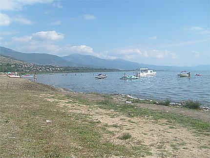 Le lac de Prespa