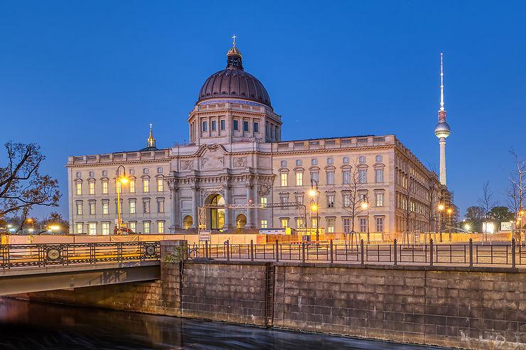 Allemagne - Berlin : inauguration du controversé Humboldt Forum dans l'ancien palais impérial