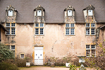 Chevannes - Façade du château