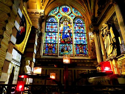 Le vitrail de Saint-Louis