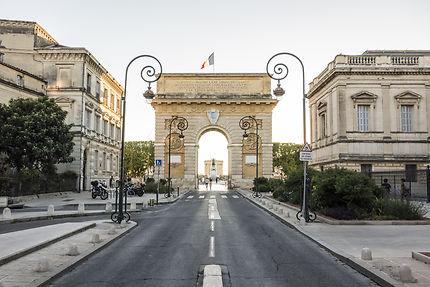 L'Arc de triomphe, Montpellier (34)
