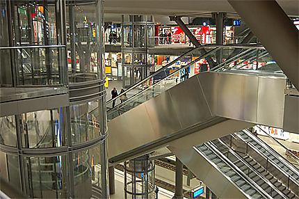 La gare centrale de Berlin