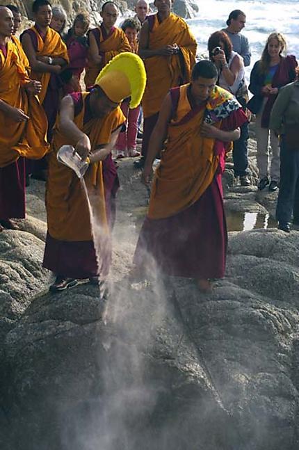 Mise à la mer d'un Mandala