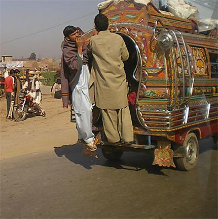 Au nord de Lahore Pakistan février 2009
