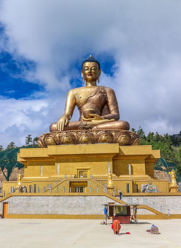 À l'ombre du Grand Bouddha