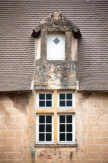 Détail fenêtre du château