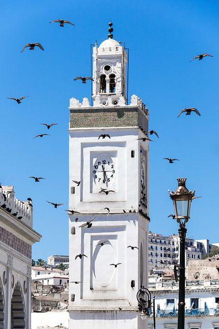 Alger - Mosquée de la Pêcherie - Minaret