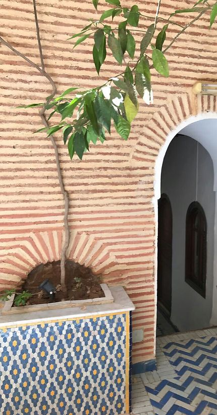 Belle matière d'antan à Marrakech