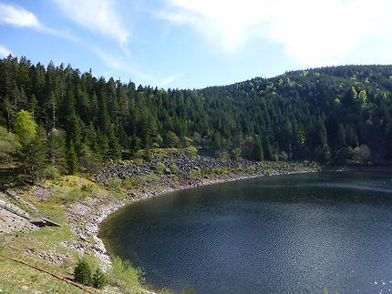 Lac noir à Orbey