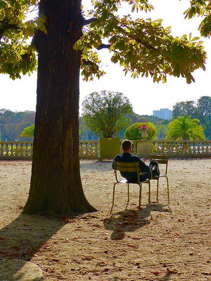 Zen au Jardin du Luxembourg