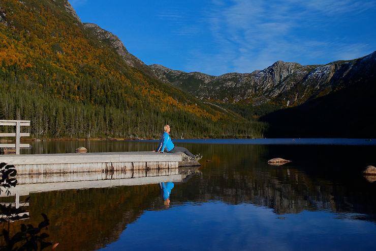 Lac aux Américains, Parc national de la Gaspésie, Québec