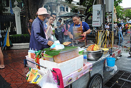 Marchand ambulant Bangkok