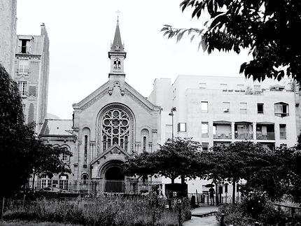 Façade de l'église Protestante Luthérienne
