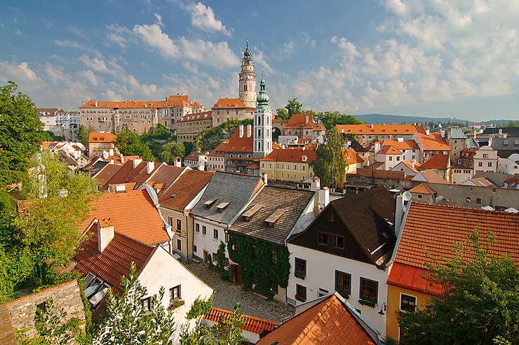 Český Krumlov et les villes baroques de Bohème (République tchèque)