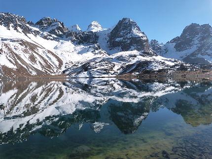 Trek dans la cordillère des Andes