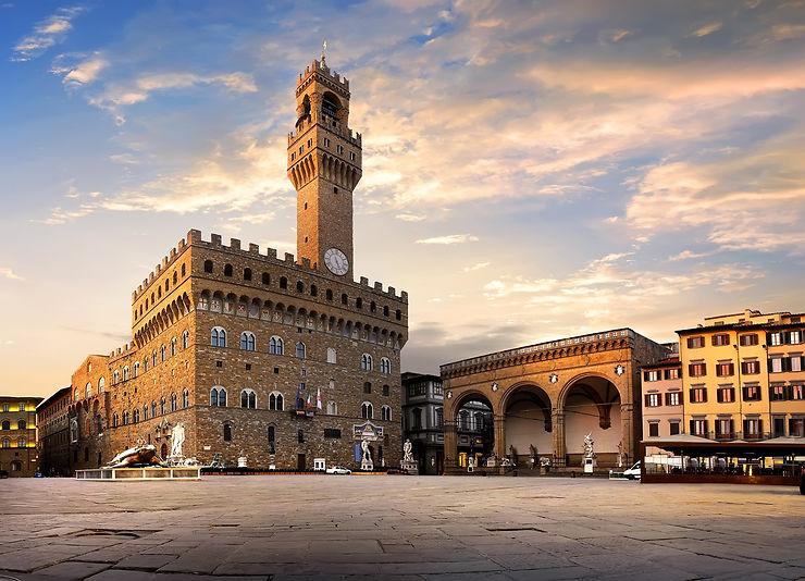 Piazza della Signoria, Florence - Italie