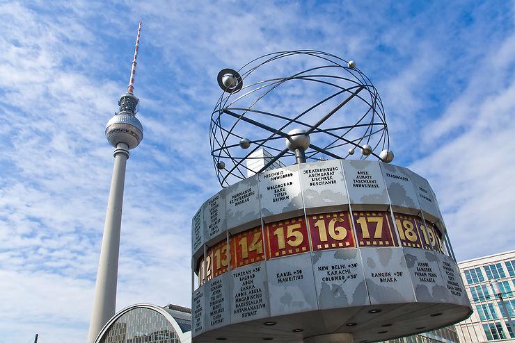 Alexanderplatz, Berlin - Allemagne