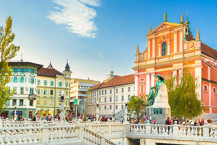 Ljubljana et le lac Bled (Slovénie)