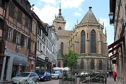 La collégiale Saint-Martin à Colmar