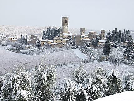 Le village de Badia a Passignano