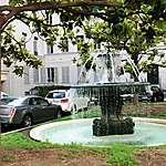 Fontaine du square d'Orléans