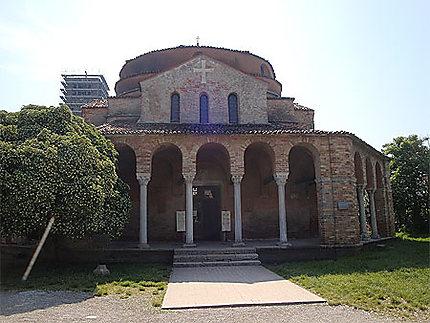 Eglise sur l'île de Torcello