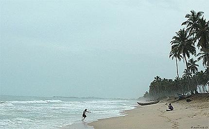Pêcheur, au large de Komenda