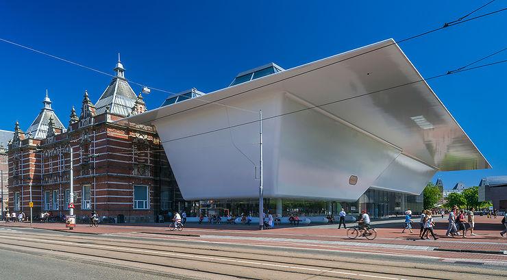 Et dans le centre d'Amsterdam aussi !