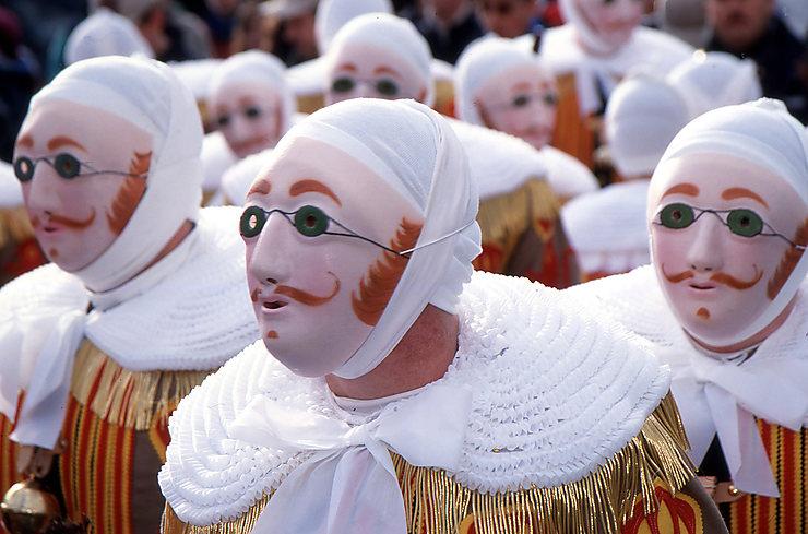 Carnaval de Binche (Belgique) : la fête des Gilles
