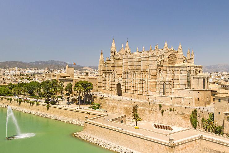La cathédrale et les vestiges maures de Palma