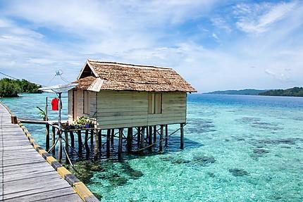 Pulau Papan - village bajau - Togian islands