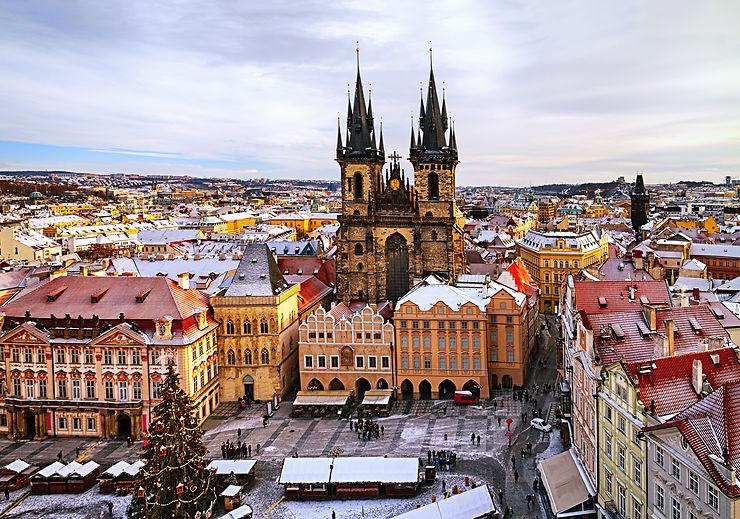 Place de la vieille ville, Prague - République Tchèque