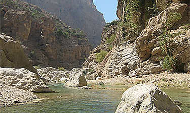 Les Wadis de l'est (région d'Ash Sharqiyah)