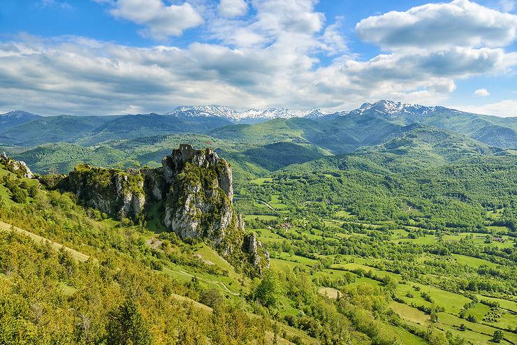 L'Ariège, au pied des Pyrénées