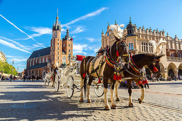 Cracovie, la belle Polonaise